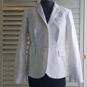 Lila Rose white blazer. Size M